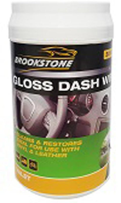 Brookstone Dashboard Wipes (Tub Of 30)
