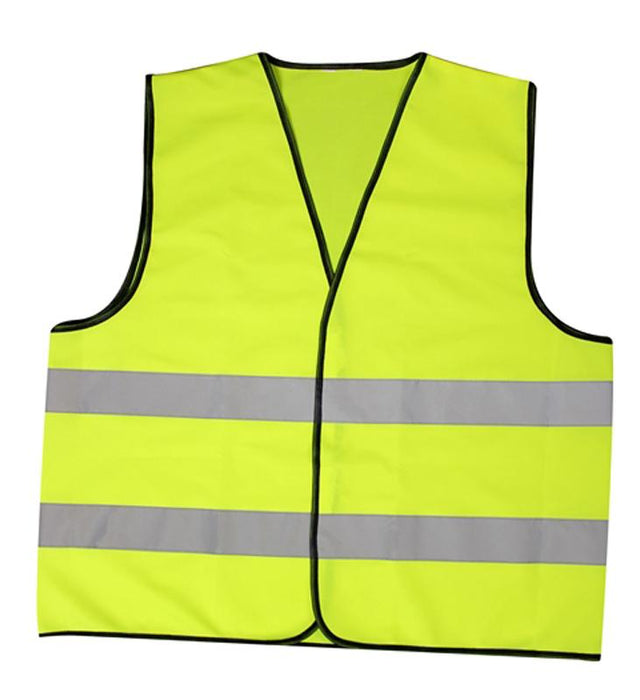 Brookstone Adult Hi Vis Vest Fluorescent and Reflective Strips