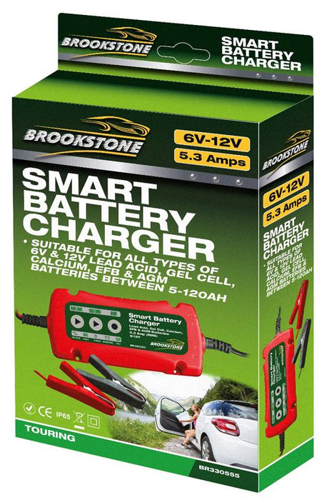 Brookstone Smart Charger 6V/12V - 3.5 AMP