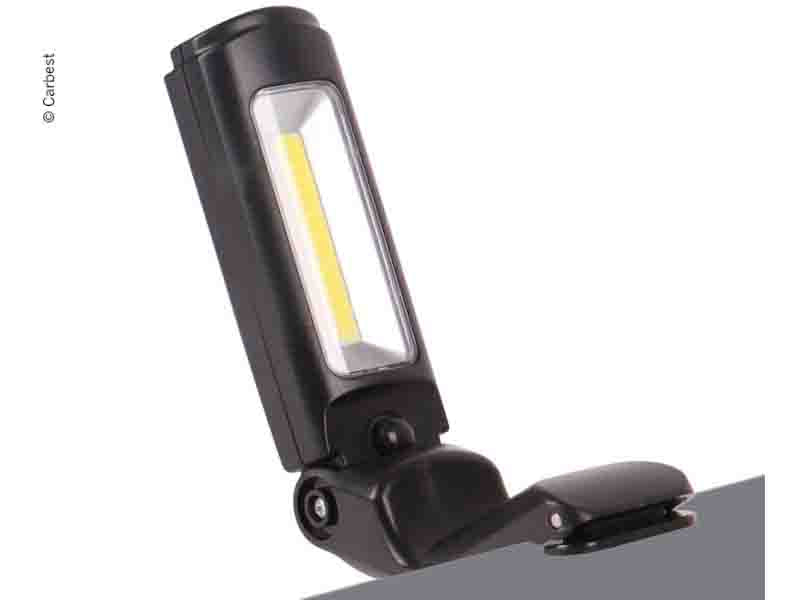 Camping Lamp with Clamp Function 3W COB 120 Lumens Torch