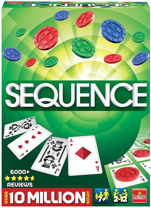 Goliath Games Sequence Strategy Adults Family Playing Card Game