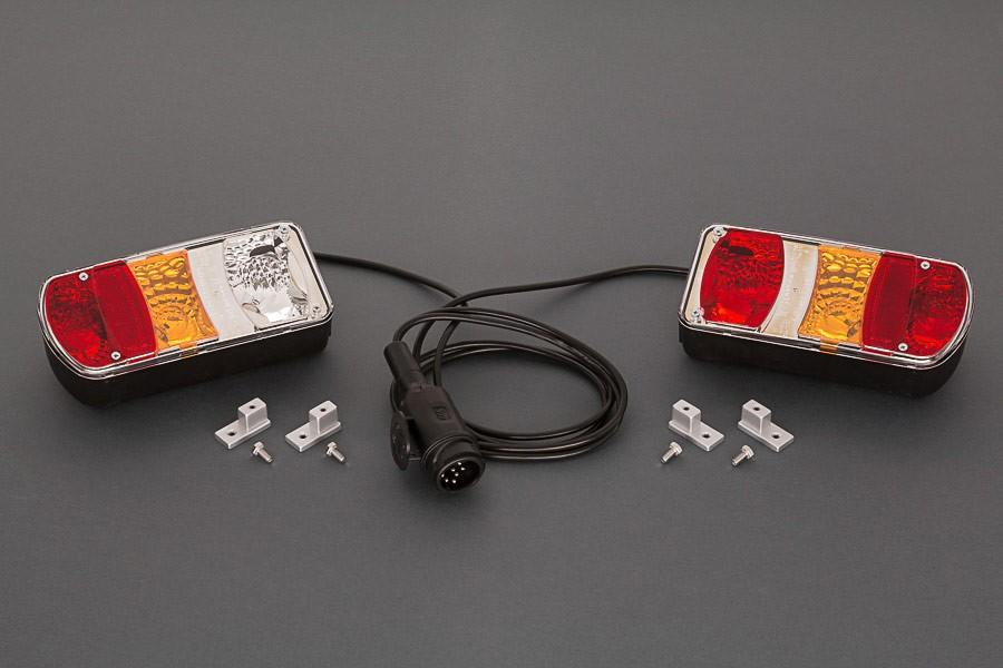 Carry-Bike Light Set With Cable & Plug