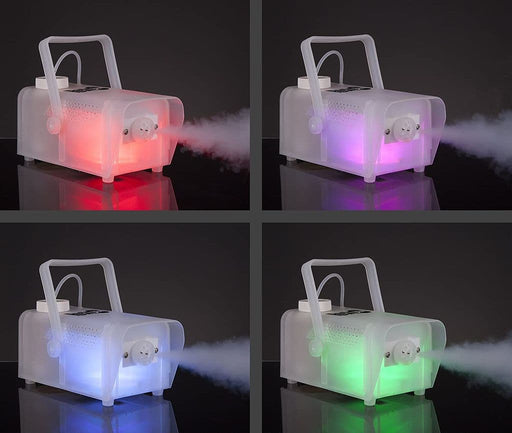 Party Disco DJ RockJam LED Mutlicolour Fog Smoke Machine
