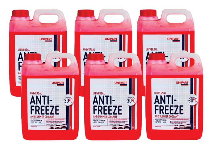 Unipart Antifreeze RTU 2L Box Of 6