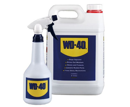 WD40 5L Can With Applicator and Corrosion-Resistant Ingredients