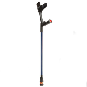 Flexyfoot Comfort Grip Open Cuff Crutches - Blue