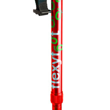 Load image into Gallery viewer, Flexyfoot Premium Cork Handle Folding Walking Stick - Red