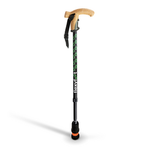 Flexyfoot Premium Cork Handle Walking Stick