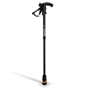 Flexyfoot Premium Derby Handle Folding Walking Stick