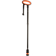 Load image into Gallery viewer, Flexyfoot Premium Oval Handle Folding Walking Stick