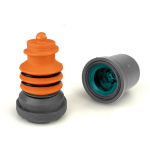 Flexyfoot Shock Absorbing Crutch Ferrule - Grey - 16mm