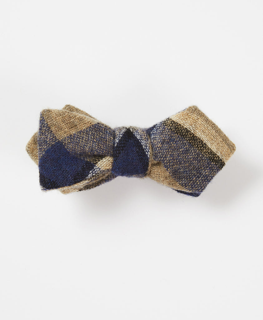 The Station Plaid Bow Tie