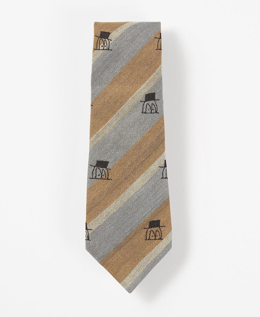 The Little Guy Stripe Necktie