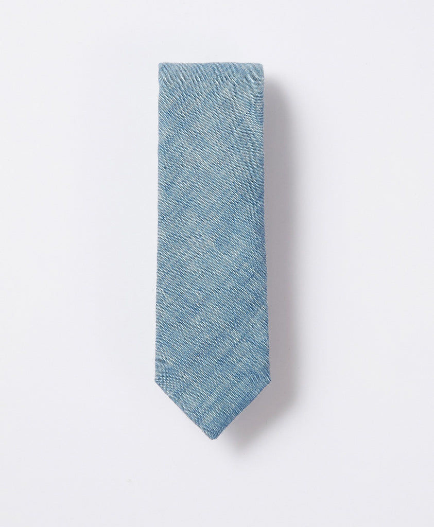 The Chambray Mini Necktie
