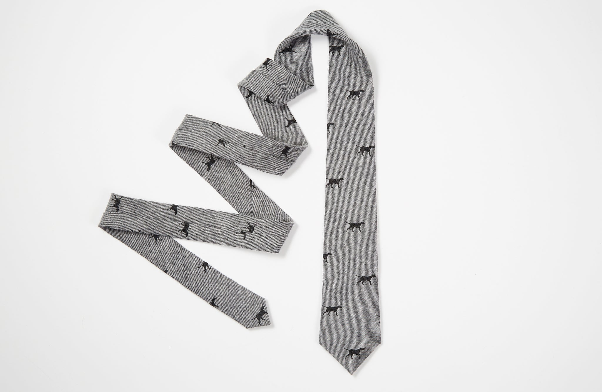 The Hunting Dog Necktie