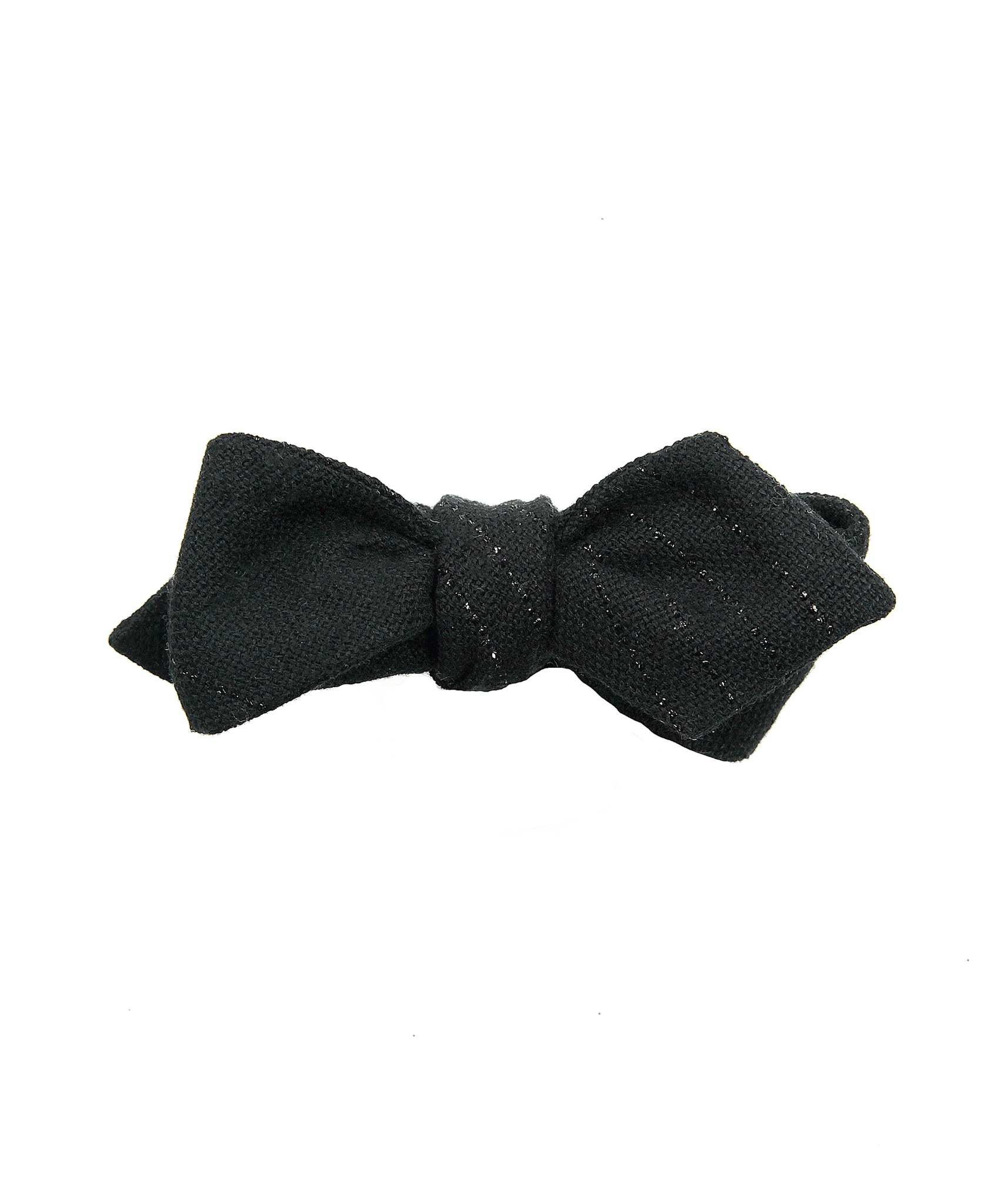 The Glitter Stripe Bow Tie