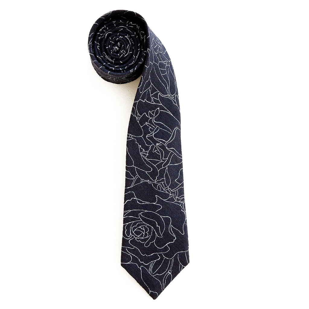 The Rose Weave Necktie