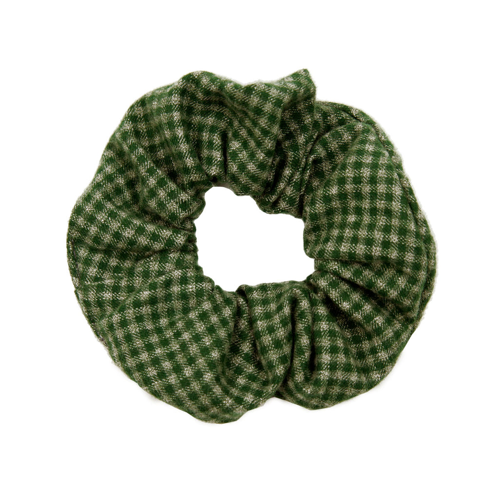 The Gingham Scrunchy