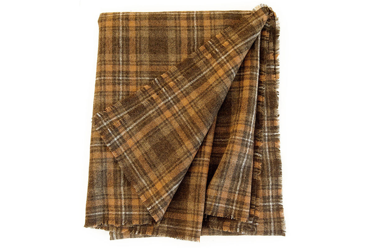 The Wool Plaid Scarf