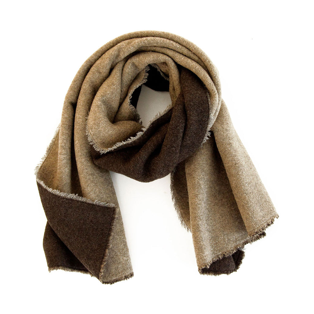 The Double Faced Wool Fleece Scarf