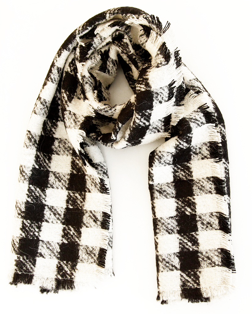 The Wool Gingham Scarf
