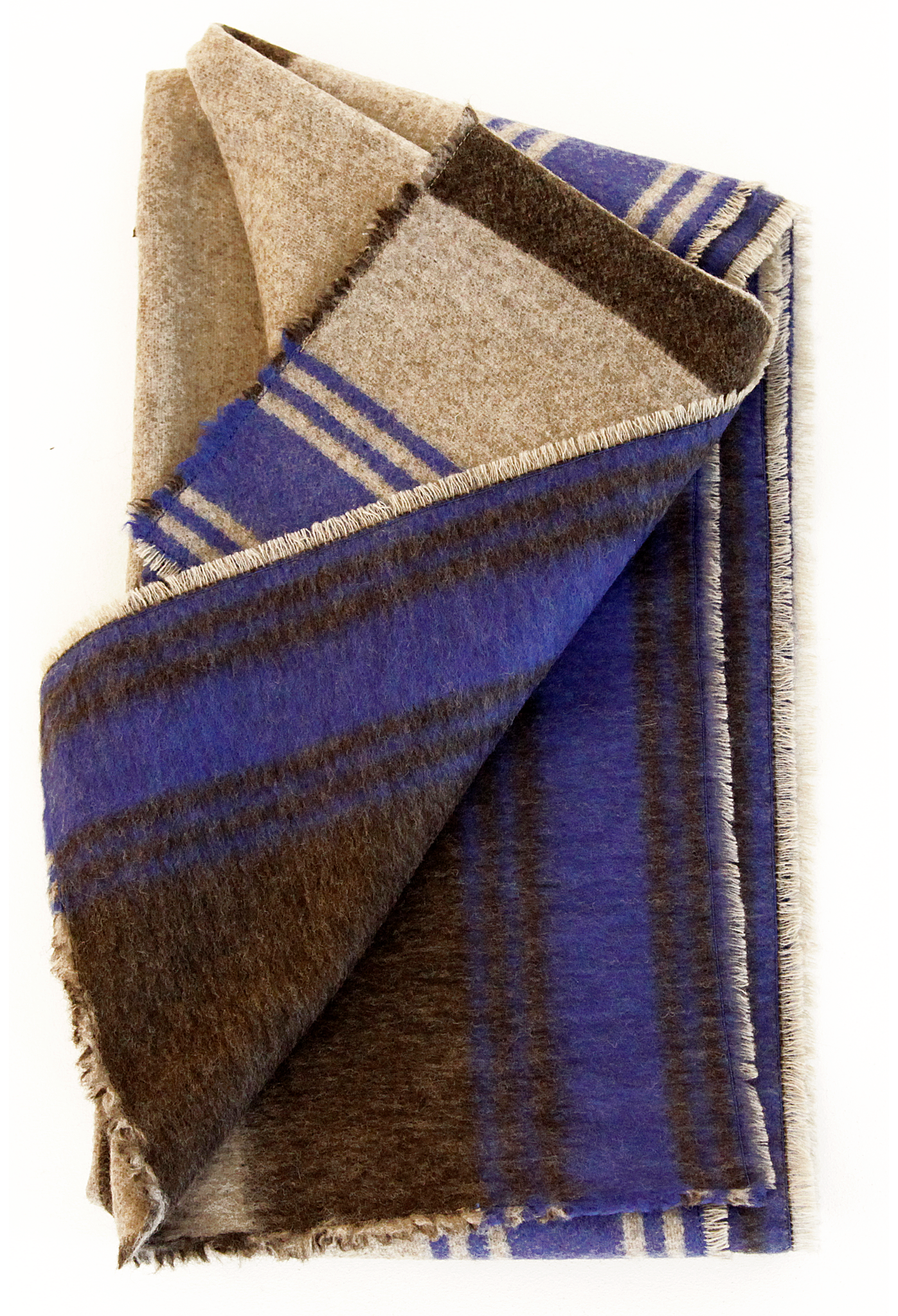 The Worsted Wool Stripe Scarf