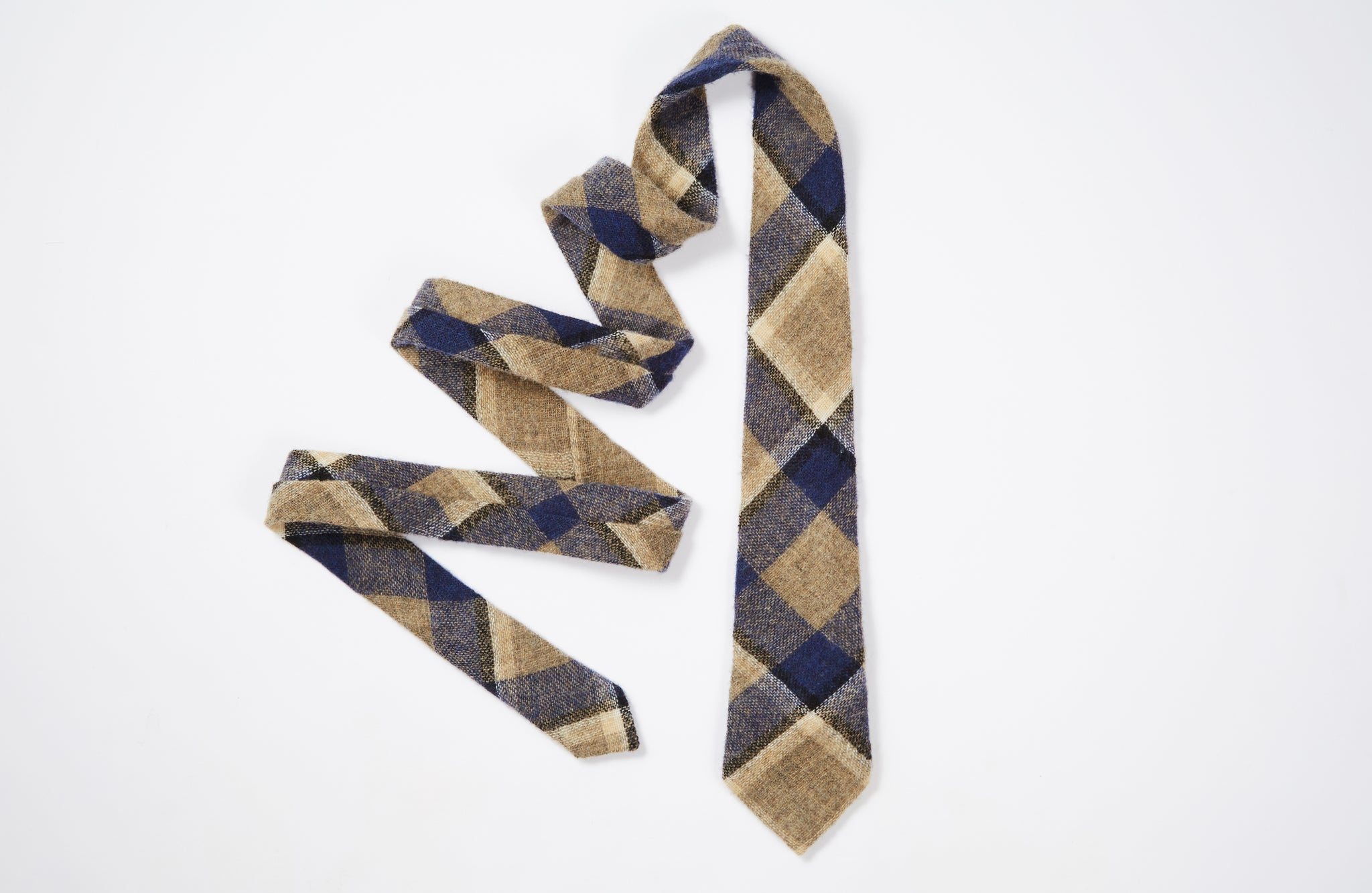 The Station Plaid Necktie