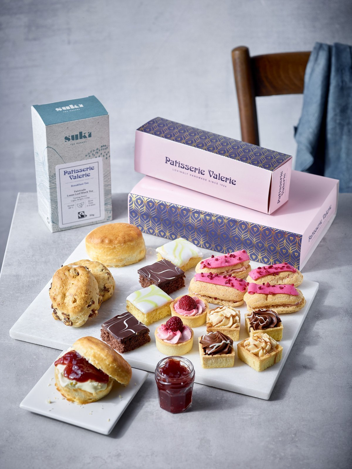 Afternoon Tea - Patisserie Valerie