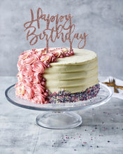 Load image into Gallery viewer, Happy Birthday Cake Toppers - Patisserie Valerie