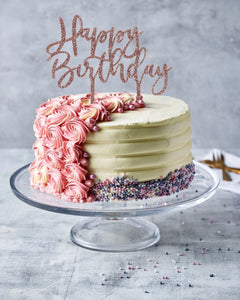 Happy Birthday Cake Toppers - Patisserie Valerie
