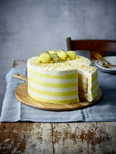 Load image into Gallery viewer, Lemon Candy Stripe Gateau - Patisserie Valerie