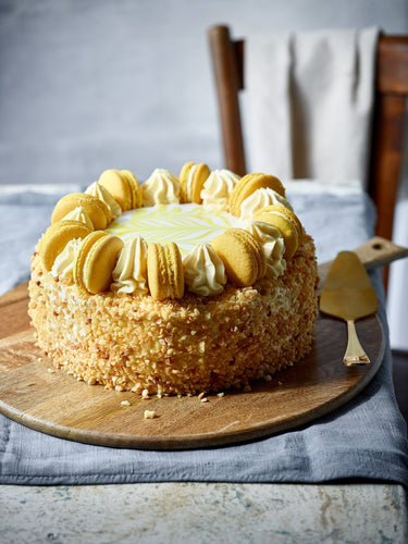 Lemon Gateau - Patisserie Valerie