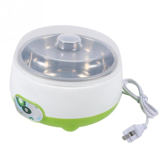 Electric multifunction 800ml Yogurt Maker Stainless Steel Liner Mini Automatic Yogurt Machine cups for yogurt kitchen appliances