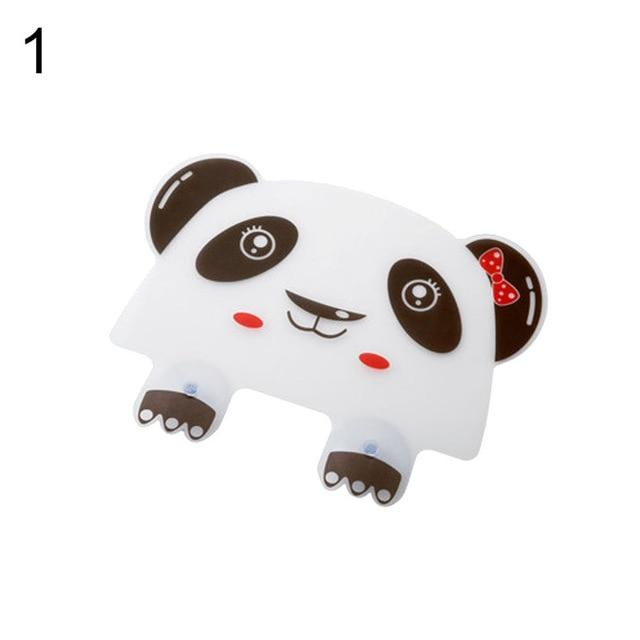 1pc Cute Panda Sucker Water Splash Guard  Baffle Wash Basin Sink Board Kitchen Tools Protect Water Baffle Supplies