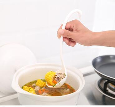 Hot sale Creative Swan Soup Spoon Long Handle Porridge Monster Spoon with Tray Kitchen Cooking Tools Tableware Kitchen accessory
