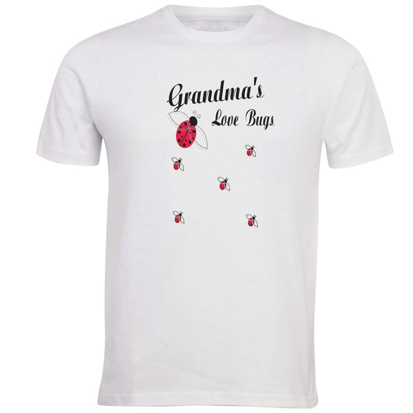 Grandmas Love Bugs T-shirt - Unusual Finds Discount Store