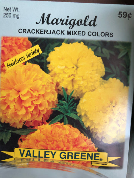 MARIGOLD FLOWER SEEDS - Unusual Finds Discount Store