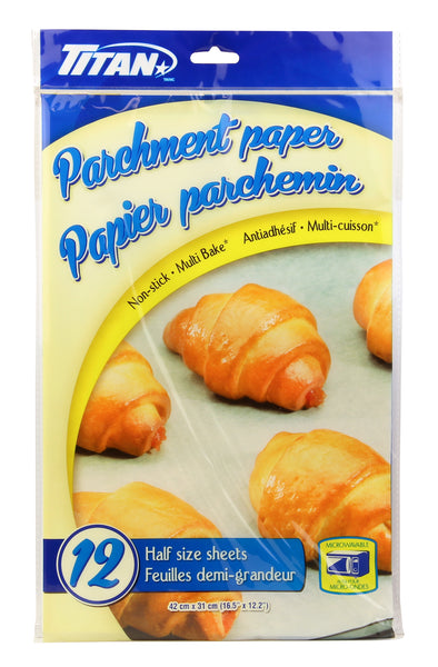 PARCHMENT PAPER 12 HALF SHEETS - Unusual Finds Discount Store