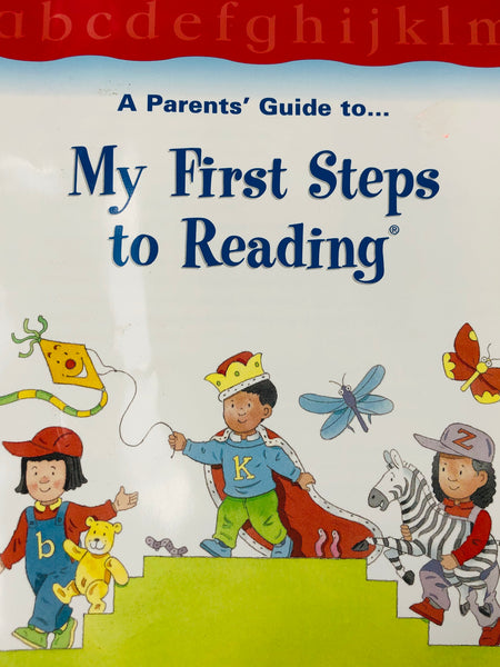 A PARENTS GUIDE TO MY FIRST READING SETS BOOK - Unusual Finds Discount Store