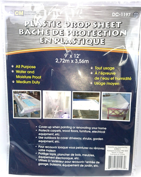 Plastic Drop Sheet - Unusual Finds Discount Store