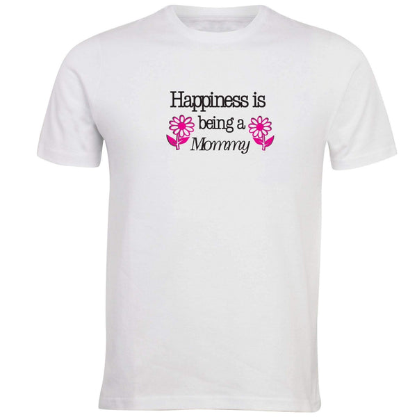 Happiness is Being a Mommy T-shirt - Unusual Finds Discount Store