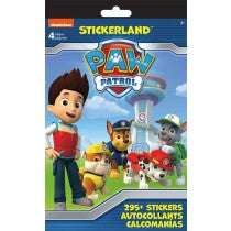 PAW PATROL STICKERLAND PAD - Unusual Finds Discount Store