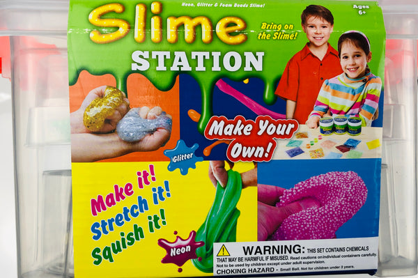 Slime Station In Storage Carry Case - Unusual Finds Discount Store