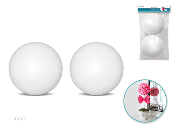 "FOAM BALLS 2pc 3.8"" - Unusual Finds Discount Store"