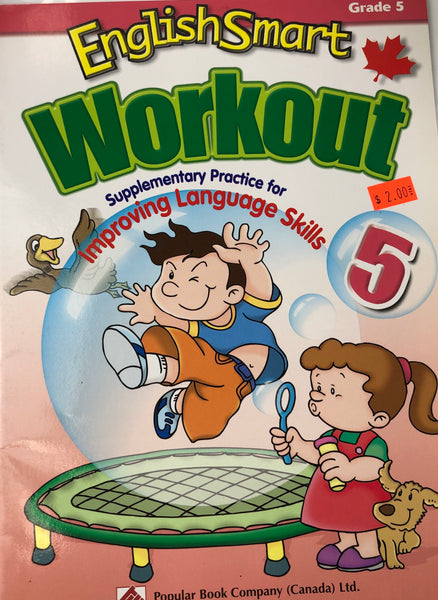 ENGLISH SMART WORKOUT WORKBOOK GRADE 5 - Unusual Finds Discount Store