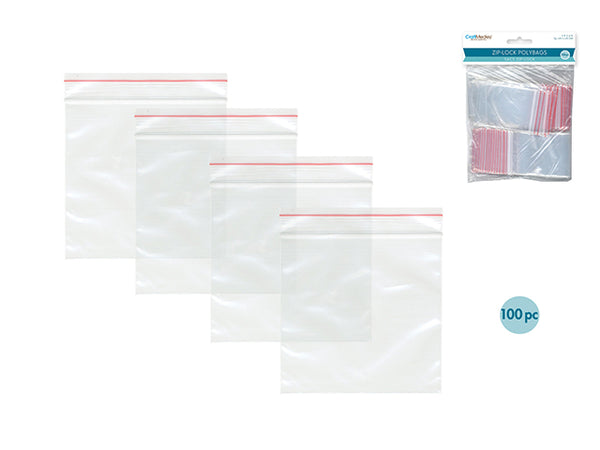 "ZIP-LOCK POLYBAGS 2 x 3"" - Unusual Finds Discount Store"