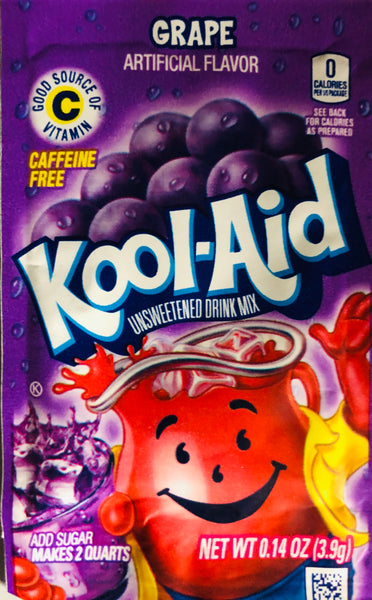 KOOL-AID GRAPE SINGLE PACKET - Unusual Finds Discount Store