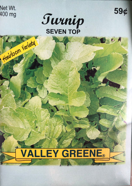 TURNIP GARDEN SEEDS - Unusual Finds Discount Store