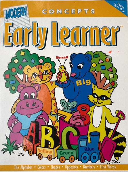 EARLY LEARNER CONCEPTS WORKBOOK - Unusual Finds Discount Store