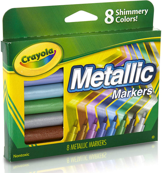 Crayola Metallic Markers - Unusual Finds Discount Store